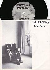 John Foxx ORIG UK PS 45 Miles away EX '80 Ultravox Post Punk New wave Synth Pop