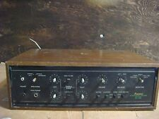 Vintage Sansui AU-555 Solid State Stereo Control Amplifier 1961-1971 - Powers ON