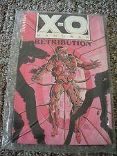 X-O MANOWAR RETRIBUTION TRADE PAPERBACK ORIGINAL VALIANT SERIES & DATABASE #1