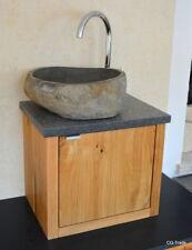 Simple Gallery Of Waschtisch Design Luxus Granit Flussstein Findling  Waschbecken Bad Eiche Massiv With Badezimmer Waschtisch With Groes  Waschbecken Bad