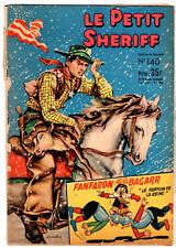¤ LE PETIT SHERIFF n°140 ¤ 1956 SAGE