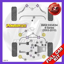 BMW E63/E64 6 Series (2003 - 2010) Rear Subframe Bushes Powerflex Full Bush Kit