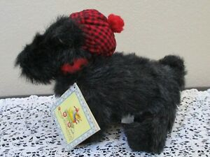 "Enesco Cuties Henry The Scottie 1999 12"" Long NEW"