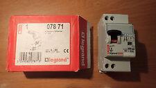 Legrand 07871 - Interrupteur Disjoncteur Différentiel 6A Typa AC 300Ma 2P
