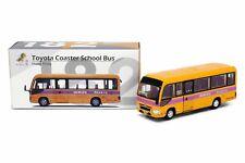 Tiny City 182 1/76 Die-cast Model Car - Toyota Coaster School Bus (19-seats)