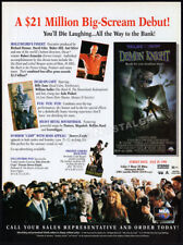 Tales from the Crypt: DEMON KNIGHT__Orig. 1995 Trade print AD_promo__BILLY ZANE