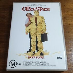 Office Space DVD R4 LIKE NEW FREE POST