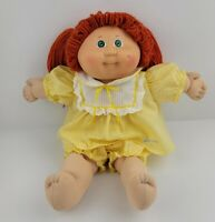 VINTAGE 1982 RED HEAD Cabbage Patch Doll Green Eye One Dimple No Freckle COLECO