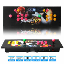 800 Video Games TV Jamma Arcade Console Kit 2 Joystick Button VGA Pandora Box 4s