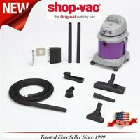 Shop-Vac Kit 4-Gallon 5.5-HP Wet/Dry Home Garage Shop Vacuum-Cleaner Lightweight