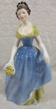 """Royal Doulton Large Sculpture Figurine """"Melanie"""" 7¾"""" Tall HN2271 Made In England"""
