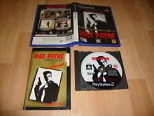 MAX PAYNE 1 DE ROCKSTAR GAMES PARA LA SONY PLAY STATION 2 USADO COMPLETO