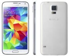 Débloqué Téléphone 5.1'' Samsung Galaxy S5 G900F 16GB 4G LTE Android NFC - Blanc