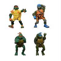 """LOT OF 4 Teenage Mutant Ninja Turtles 2003 Action Figures TMNT 5"""" Playmates"""