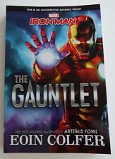 NEW EOIN COLFER Marvel IRONMAN The Gauntlet ARC UNCORRECTED PROOF