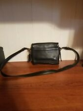 Vintage black leather COACH purse and Wallet
