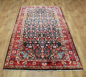 Traditional Vintage Wool Handmade Classic Oriental Areas Rug Carpet 264 X126 cm