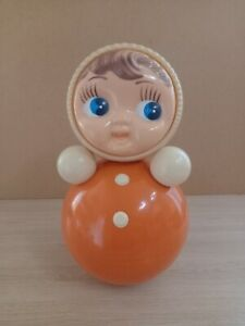Vintage doll Roly-Poly Nivalashka 40cm 1970-80s USSR