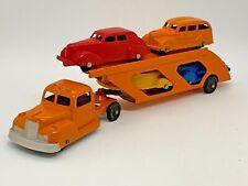 Tootsietoy 1947 International K5 Car Transport 4 cars