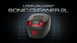 Hornady Lock N Load Sonic Cleaner II 2 Liter 110 Volt 80W Ceramic Heater.