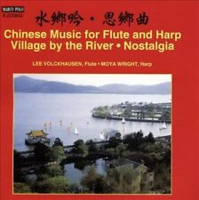 Chinese Music for Flute and Harp: Village by the River - Nostalgia, New Music