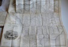 1835 Guide pittoresque du voyageur en France 5 vol 73 cartes 652 vues portraits