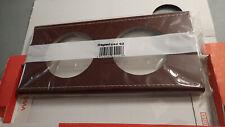 Legrand 69292 ou 692 92 - Plaque DOUBLE CELIANE Legrand CUIR LIE DE VIN 71mm