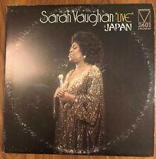 "Sarah Vaughan ""Live"" in Japan 2X LP Mainstream Records VG+ 1973"