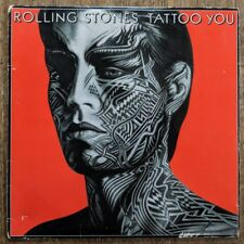 """Rolling Stones - Tattoo You LP 1981 vinyl record w/ inner sleeve w/ """"Hang Fire"""""""