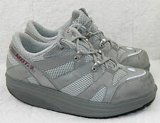 MBT Sz 8.5 SNEAKERS SHOES Toning WALKING Shapers SILVER Athletic ORTHOTIC     H