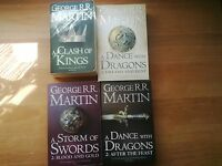 Game of Thrones -Tomes 1 et 2 AFTER.2 BLOOD - George RR MARTIN - en anglais