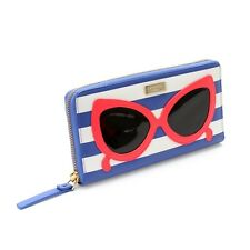 NWT Kate Spade Neda Sunglasses Zip Around Wallet Continental Phone Case Clutch