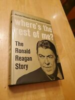 where's the rest of me 1965, Ronald Reagan, 1st edition, 3rd printing, hcdj