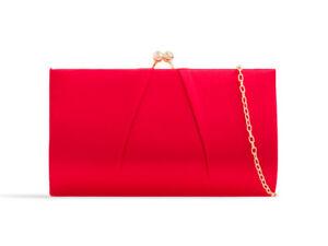 New Woman's Beautiful Silk & Satin Prom/Evening/Wedding/Party Clutch Bag