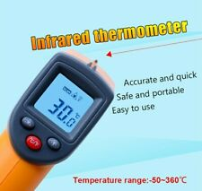 Digital Laser infrared thermometer GS320 Themperature Pyrometer IR Laser Point