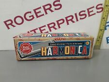 Harmonica Retro Bazaar Traditional Musical Instrument boxed, sealed gift NEW
