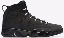 "New Mens Nike AIR JORDAN 9 IX RETRO Shoes ""Anthracite"" 302370 013 -Sz 11 -New"