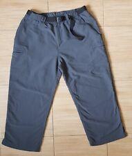 Women's THE NORTH FACE 100% Nylon Capri Pants/Long Shorts, Size L, VGC !