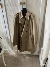 Men's Dunhill Trench Coat  Mac New Size 44 Or XL Made In Italy