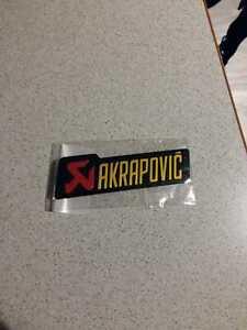 Akrapovic Street 3d Auspuff Aufkleber Hitzefest , Sticker, Emblem, Motorrad