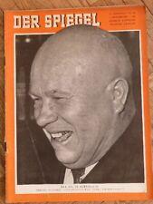 DER SPIEGEL 16. September 1959 - Zeitschrift zum Geburtstag / Jahrestag