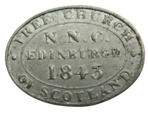 1843 N.N.C Edinburgh Free Church Of Scotland Token