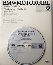 2004 2005 2006 2007 2008 2009 BMW M6 M5 Navigation DVD5-CCC Map US Canada 2009.1