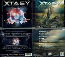 2 CDs, Xtasy - Second Chance +1 (2018) + Revolution (2014) Melodic Hard Rock,AOR