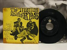 "THE MAMAS AND THE PAPAS - I SAW HER AGAIN 45 GIRI 7"" G-/VG- RCA VICTOR ITALY"