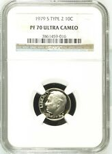 1979 S Type 2 Roosevelt Dime NGC PF 70 Ultra Cameo