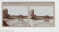 █ Vue Stéréoscopique / Stéréo : ITALIE Vérone Ponte degli Scaligeri + SION █