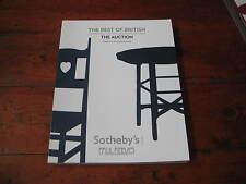 SOTHEBY'S CATALOGUE BEST BRITISH PAUL REEVES AUCTION BURNE JONES TALBERT WEBB ++