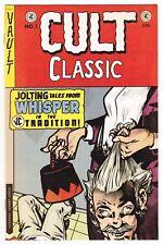 CULT CLASSIC Return to Whisper #1 (VAULT) crime suspenstories 22 VARIANT NM