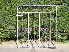 Wrought iron flat top gate for 3 ft opening fully galvanized stands 3 ft tall  r